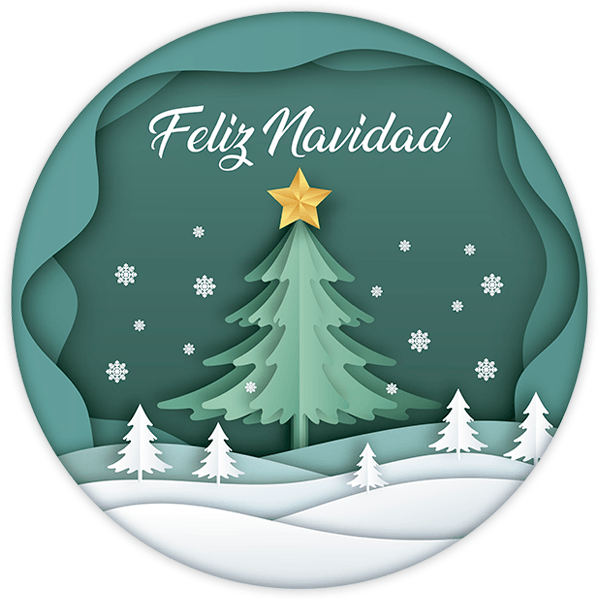 Wall Stickers: Christmas sphere, in spanish 0