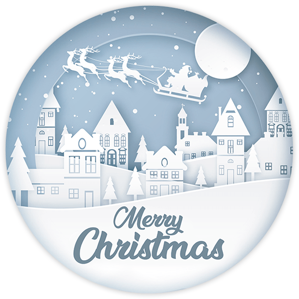 Wall Stickers: White Christmas, in english