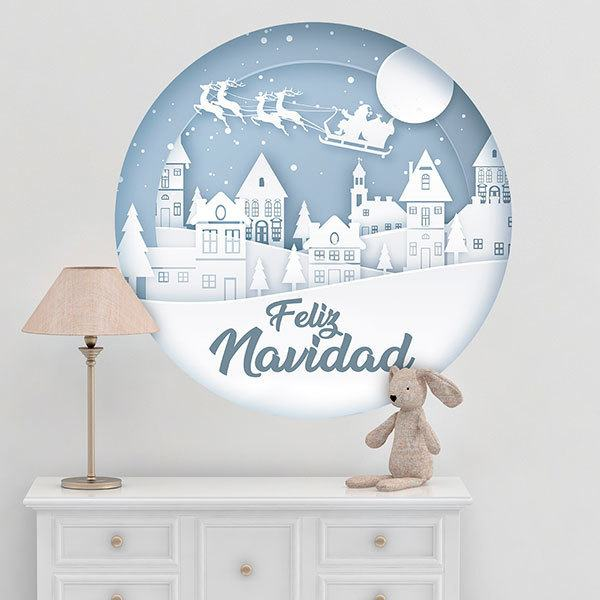 Wall Stickers: White Christmas, in spanish
