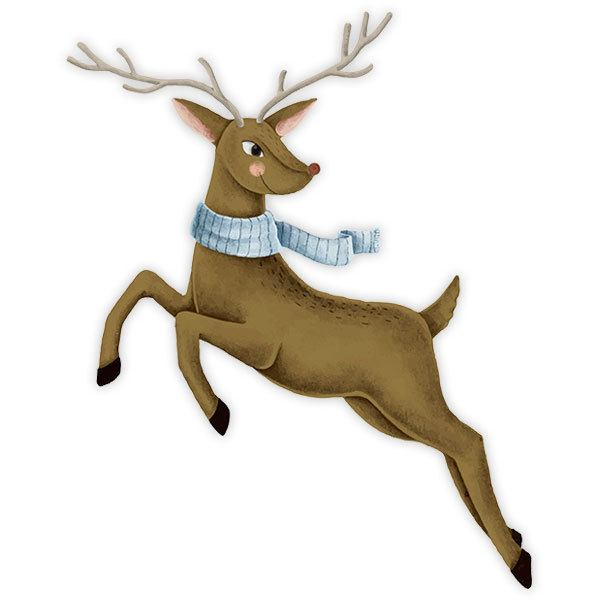 Wall Stickers: Rudolph reindeer