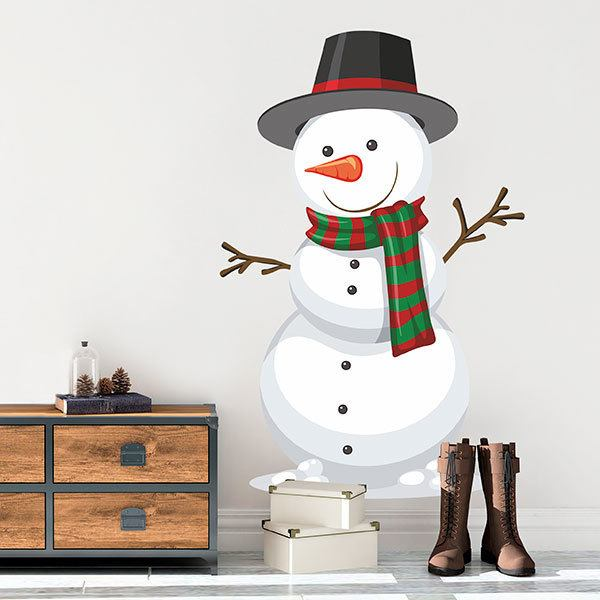 Wall Stickers: Snowman