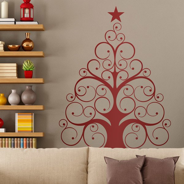 Wall Stickers: Modern tree