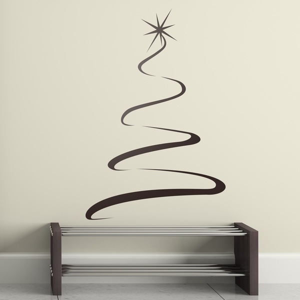 Wall Stickers: Star of the Christmas tree