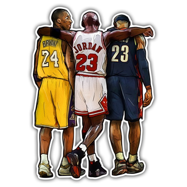 Car & Motorbike Stickers: NBA - Legends of Basket