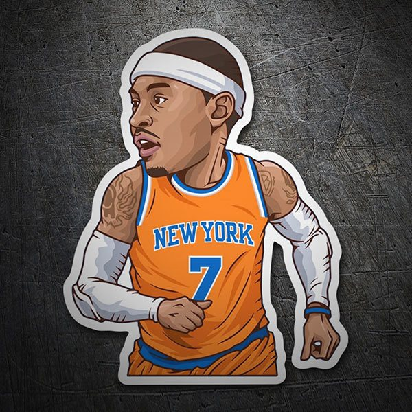 Car & Motorbike Stickers: NBA - Carmelo Anthony