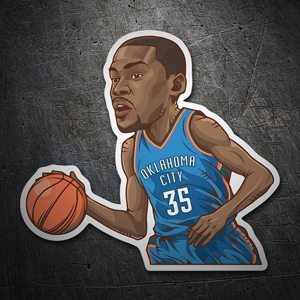 Car & Motorbike Stickers: NBA - Kevin Durant