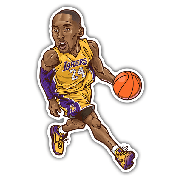 Car & Motorbike Stickers: NBA - Kobe Bryant