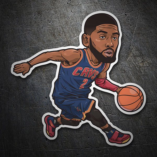 Car & Motorbike Stickers: NBA - Kyrie Irving