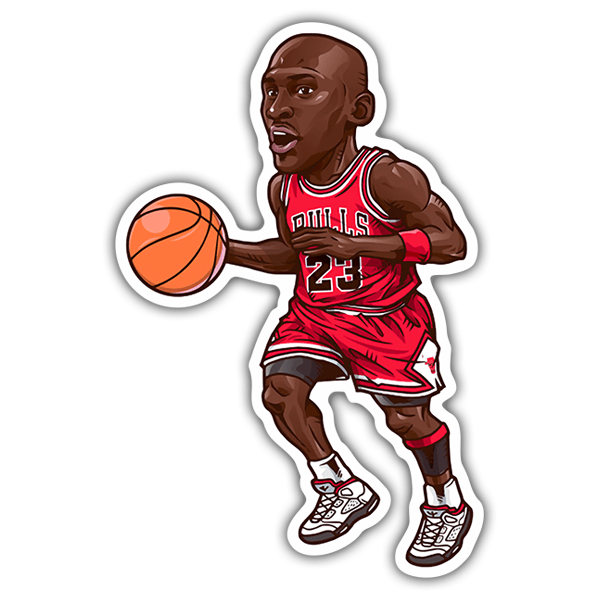 Car & Motorbike Stickers: NBA - Michael Jordan All-Star