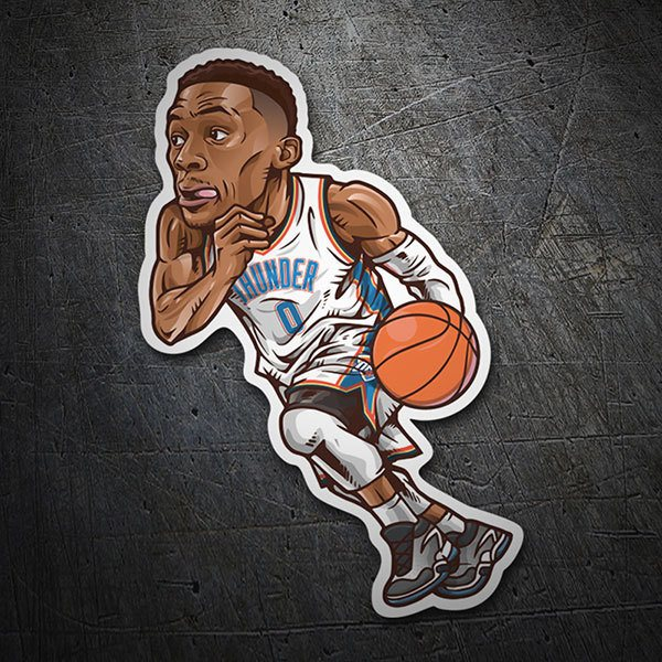 Car & Motorbike Stickers: NBA - Russell Westbrook