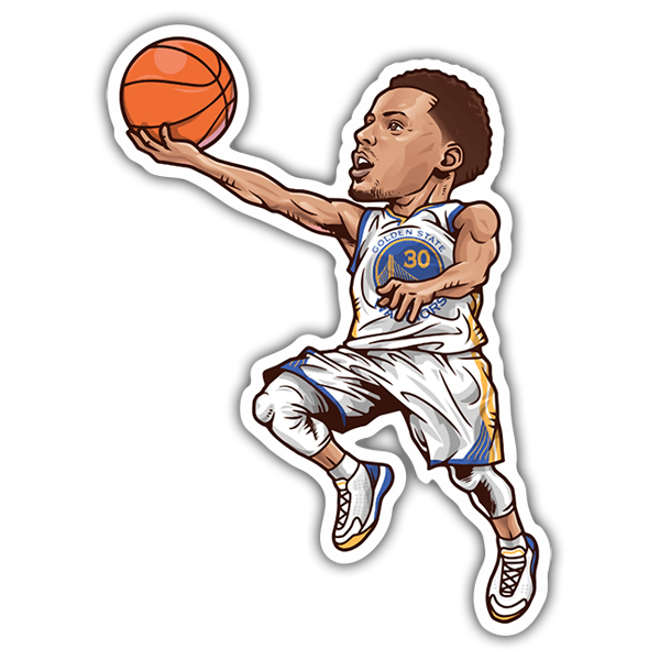 Car & Motorbike Stickers: NBA - Stephen Curry