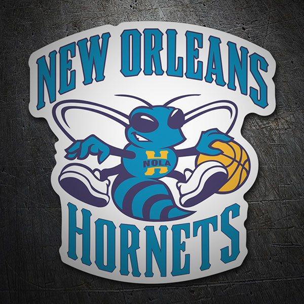 Sticker Nba New Orleans Hornets Old Shield Muraldecal Com