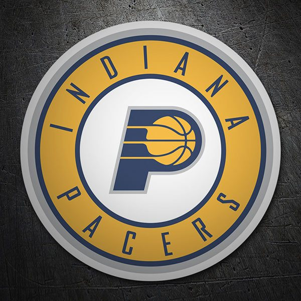 Car & Motorbike Stickers: NBA - Indiana Pacers shield 1