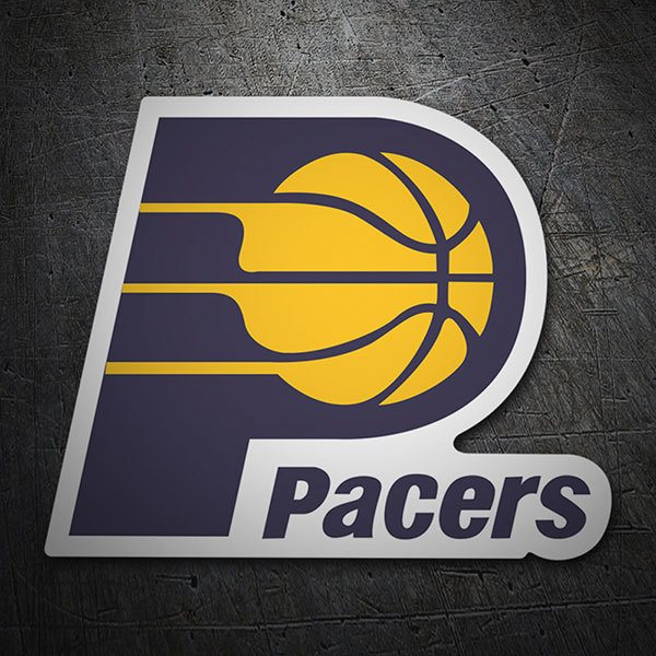 Car & Motorbike Stickers: NBA - Indiana Pacers old shield