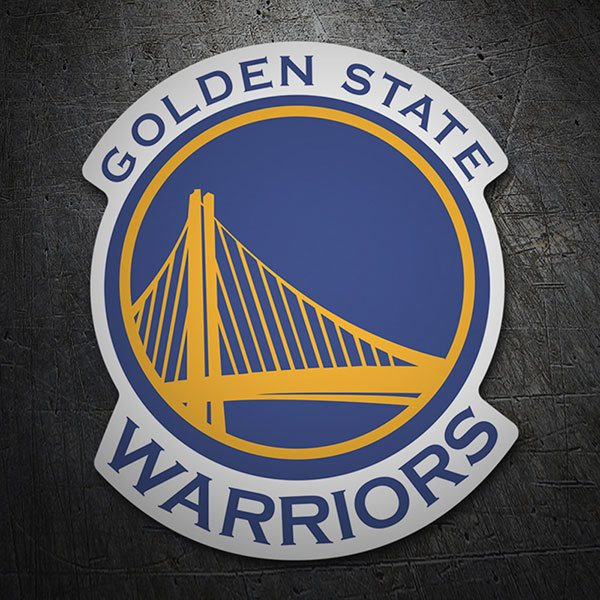 Car & Motorbike Stickers: NBA - Golden State Warriors shield
