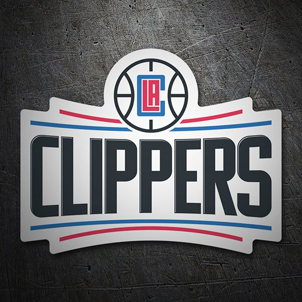 Car & Motorbike Stickers: NBA - Los Angeles Clippers shield