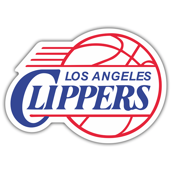 Car & Motorbike Stickers: NBA - Los Angeles Clippers old shield