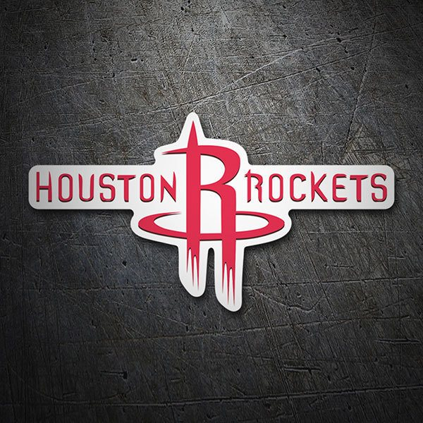 Car & Motorbike Stickers: NBA - Houston Rockets Schild