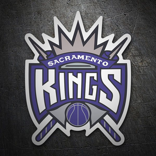 Car & Motorbike Stickers: NBA - Sacramento Kings old shield
