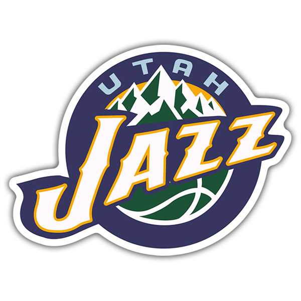 Car & Motorbike Stickers: NBA - Utah Jazz old shield