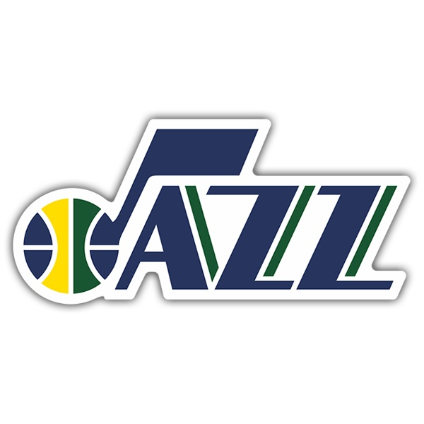 Car & Motorbike Stickers: NBA - Utah Jazz shield