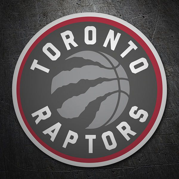 Car & Motorbike Stickers: NBA - Toronto Raptors shield