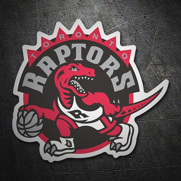Car & Motorbike Stickers: NBA - Toronto Raptors old shield