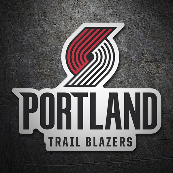 Car & Motorbike Stickers: NBA - Portland Trail Blazers shield