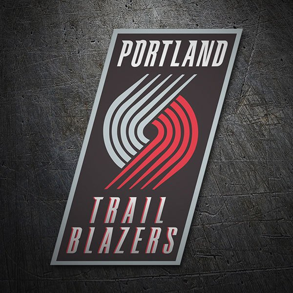 Car & Motorbike Stickers: NBA - Portland Trail Blazers old shield 1