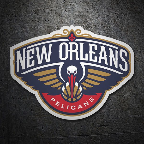 Car & Motorbike Stickers: NBA - New Orleans Pelicans shield