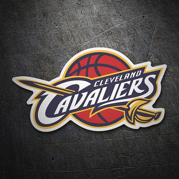 Car & Motorbike Stickers: NBA - Cleveland Cavaliers old shield