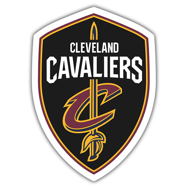 Car & Motorbike Stickers: NBA - Cleveland Cavaliers shield