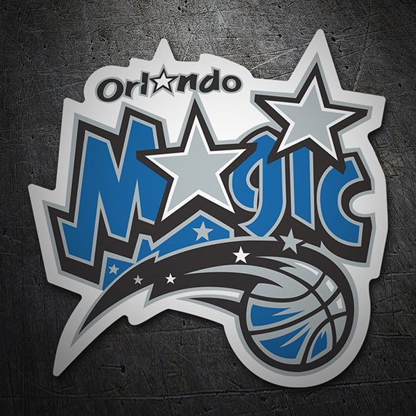Car & Motorbike Stickers: NBA - Orlando Magic old shield