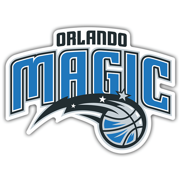 Car & Motorbike Stickers: NBA - Orlando Magic shield