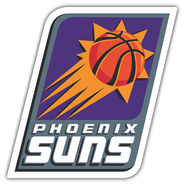Car & Motorbike Stickers: NBA - Phoenix Suns old shield