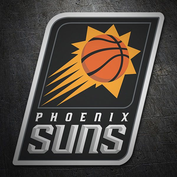 Car & Motorbike Stickers: NBA - Phoenix Suns shield