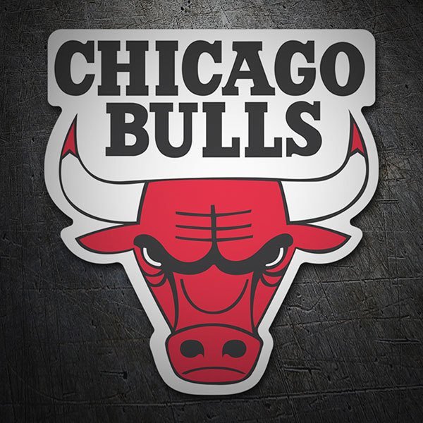 Car & Motorbike Stickers: NBA - Chicago Bulls shield