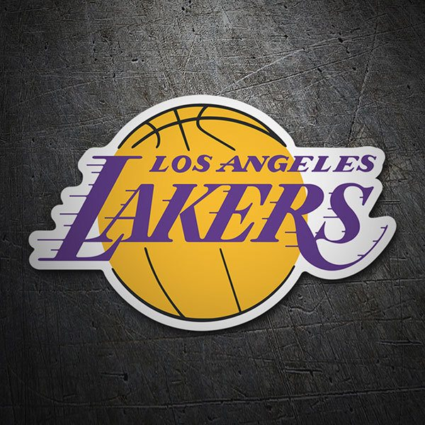 Car & Motorbike Stickers: NBA - Los Angeles Lakers shield
