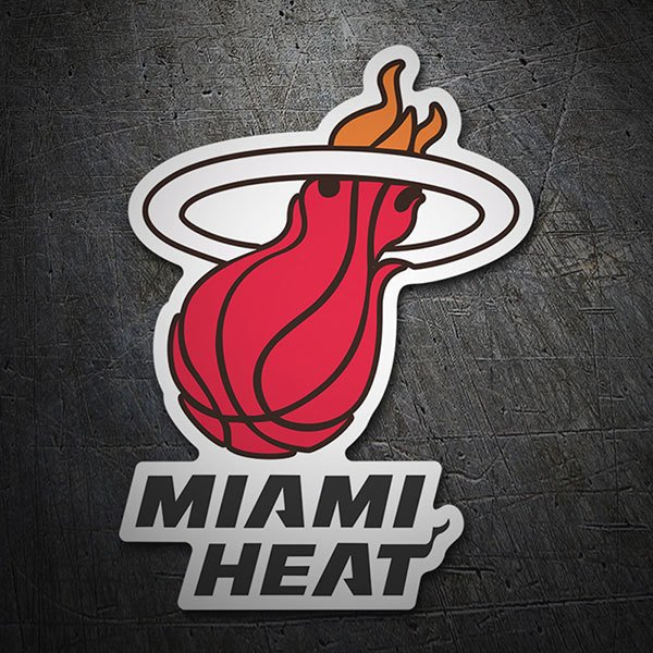 Car & Motorbike Stickers: NBA - Miami Heat shield