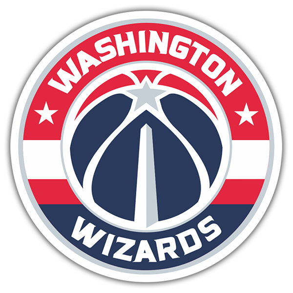 Car & Motorbike Stickers: NBA - Washington Wizards shield