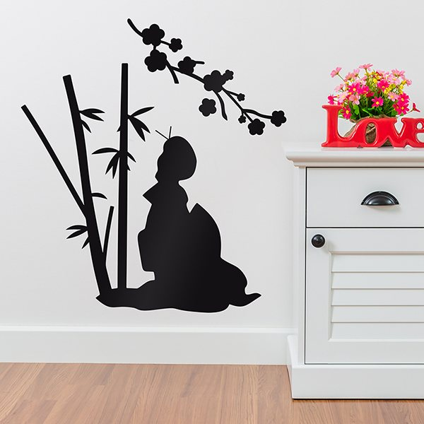 Wall Stickers: Floral Osaka