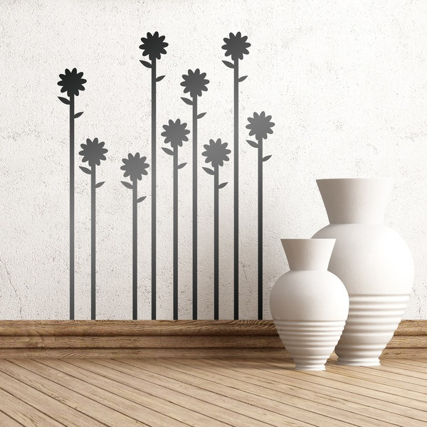 Wall Stickers: Floral 163