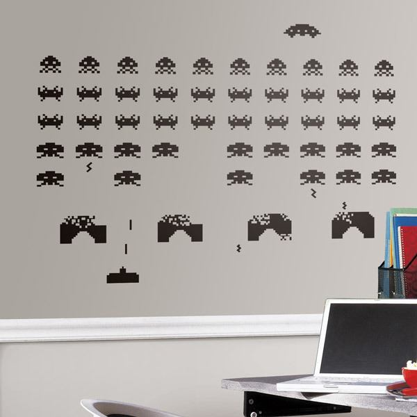 Wall Stickers: Space Invaders