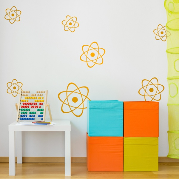 Wall Stickers: Kit 7 atoms