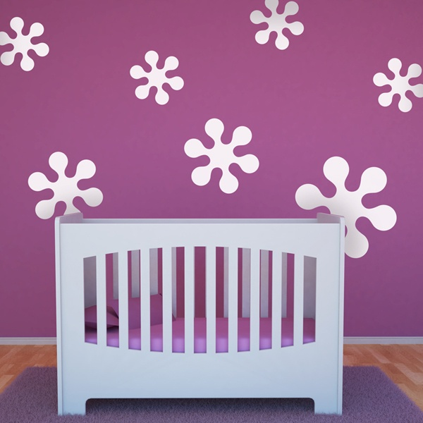 Wall Stickers: Kit 7 stars A