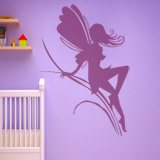 Wall Stickers: Fairy girl on herbs 7