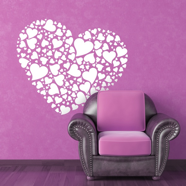 Wall Stickers: Heart of hearts