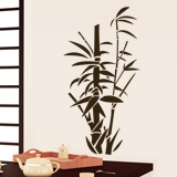 Wall Stickers: Floral bamboo canes 2