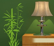 Wall Stickers: Floral bamboo canes 3