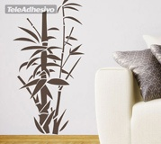 Wall Stickers: Floral bamboo canes 4